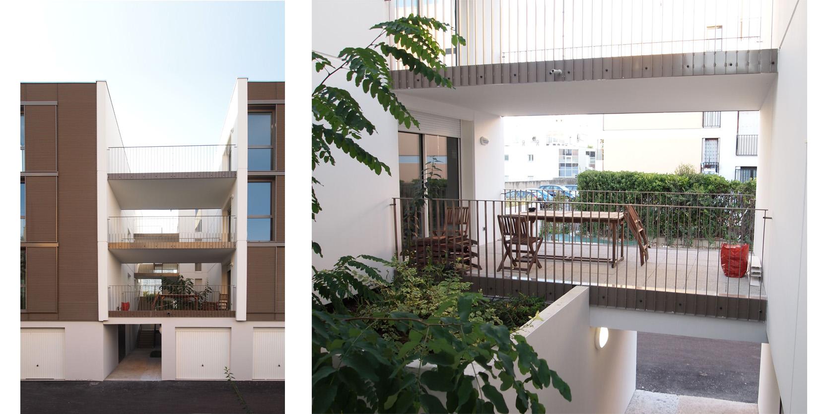 15 logements en accession sociale eric poucheret architecte - Toulousaine d habitation ...